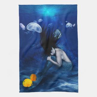 Mermaid kitchen towl tea towel