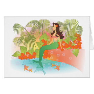 Mermaid Lagoon Card