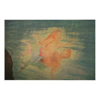 Mermaid lagoon wood canvases