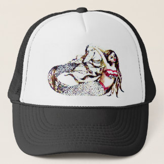 Mermaid Laurel - Mermaid School -  CricketDiane Trucker Hat