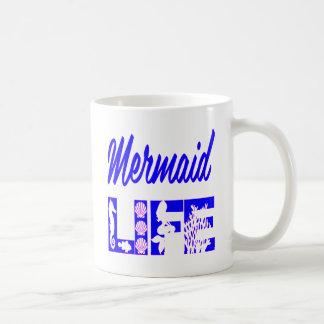 Mermaid Life FB.com/USAPatriotGraphics © Coffee Mug
