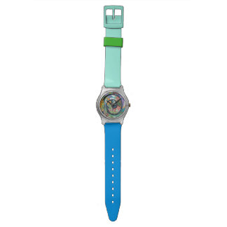 Mermaid Life Fun Colorful watch by Artzfolk