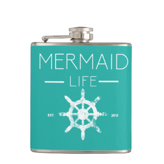 Mermaid Life Hipflask Hip Flask