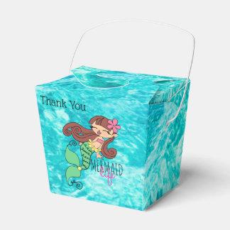 Mermaid Life Take Out Favor Box