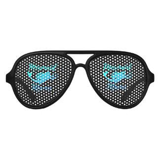 Mermaid Mama Gifts Aviator Sunglasses