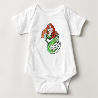 Mermaid Mama Onsie Baby Bodysuit