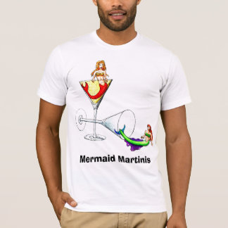 Mermaid Martinis T-Shirt