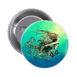 Mermaid Mermaids Fantasy Myth Button
