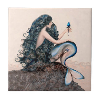 Mermaid Mermaids Fantasy Myth Tile
