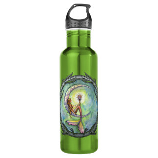 Mermaid Moon Fantasy Art 710 Ml Water Bottle
