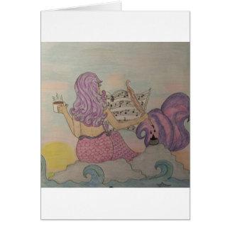 Mermaid Music Card