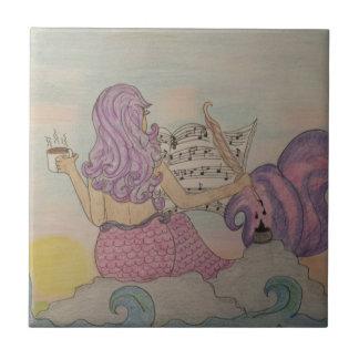 Mermaid Music Ceramic Tile