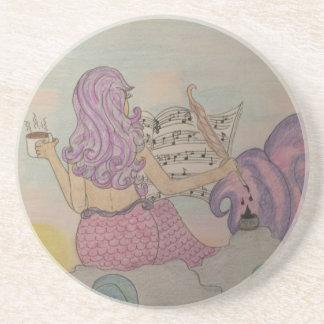 Mermaid Music Coaster