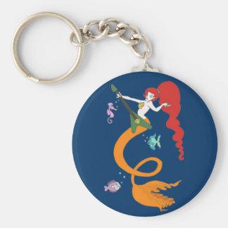 Mermaid Music Key Ring