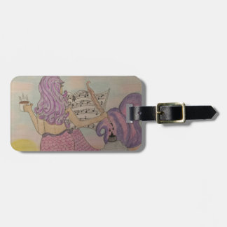 Mermaid Music Luggage Tag