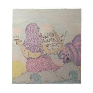 Mermaid Music Notepad