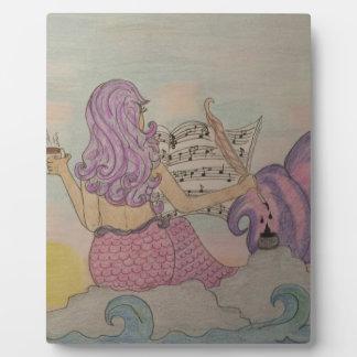 Mermaid Music Plaque