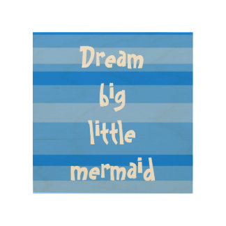 Mermaid nursery wall decor, beach wall decor