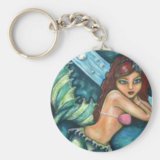 Mermaid of desire key ring