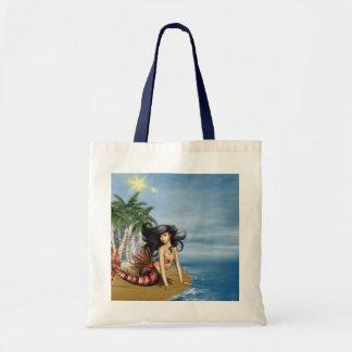 Mermaid on Beach  Small Tote Bag