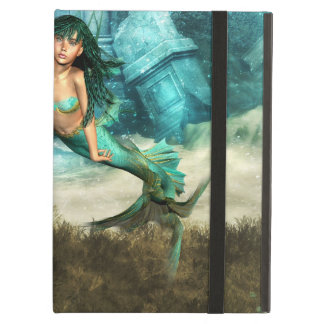 Mermaid on Ocean Floor Cover For iPad Air