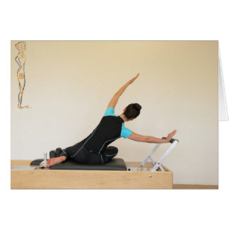 Mermaid on Reformer Card
