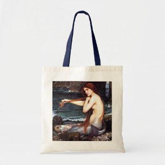 Mermaid On The Shore Budget Tote Bag