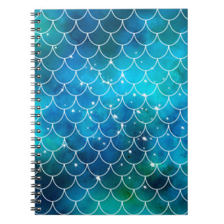 Mermaid Pattern Note Books