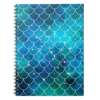 Mermaid Pattern Notebooks