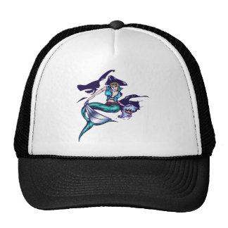 Mermaid Pirate Cap