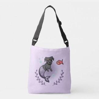 Mermaid Pit Bull 2 Crossbody Bag