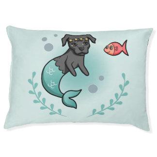 Mermaid Pit Bull Pet Bed