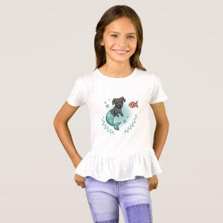 Mermaid Pit Bull T-Shirt