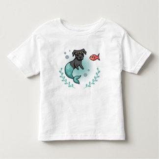 Mermaid Pit Bull Toddler T-Shirt