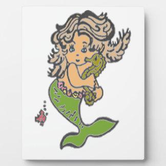 Mermaid Plaque