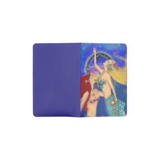 Mermaid Portal Digital Sunset Pocket Moleskine Notebook