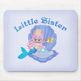 Mermaid Princess Little Sister Mousepads