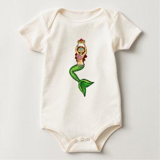 Mermaid Queen for Baby! Baby Bodysuit