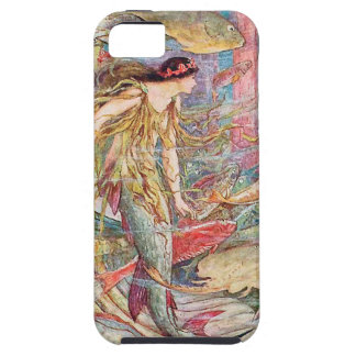 Mermaid Queen of the Fishes Tough iPhone 5 Case