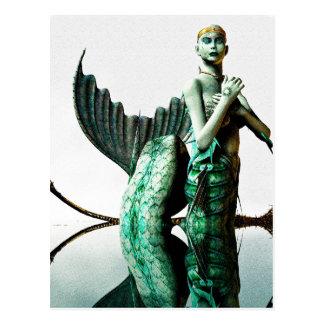 Mermaid Queen Postcard