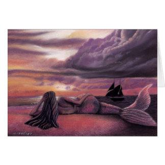 Mermaid Rendezvous Greeting Card