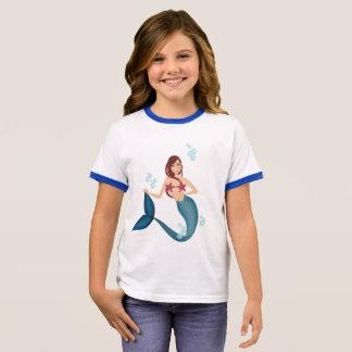 Mermaid Ringer T-Shirt