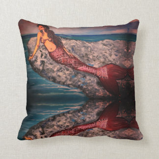 Mermaid Rock Cushion