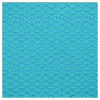 mermaid scales #2 Thunder_Cove blue/aqua Fabric