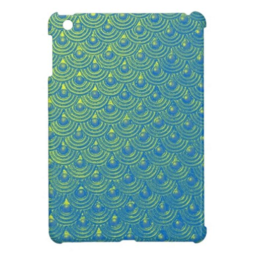 Mermaid scales cover for the iPad mini