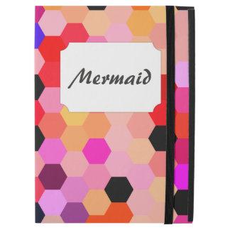 Mermaid Scales Lavender and Bittersweet Octagon