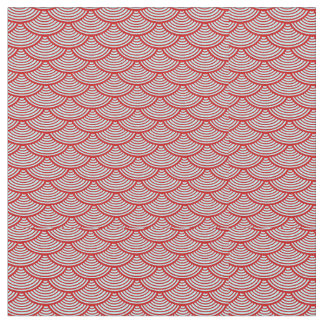 mermaid scales   Thunder_Cove red/grey Fabric