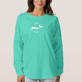 Mermaid Silhouette Women's Spirit Jersey Shirt