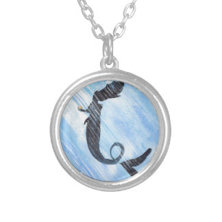 Mermaid Silver Plated Necklace