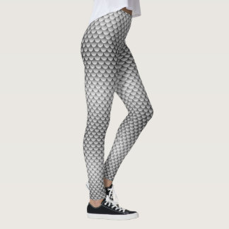 Mermaid Style ~ Silver Tail Leggings